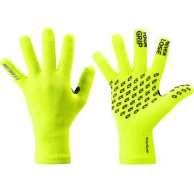 GripGrab Waterproof Thermo Strickhandschuhe fluo yellow